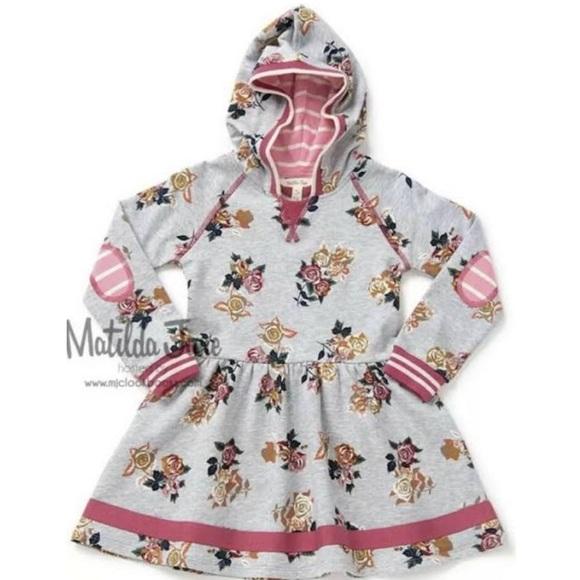 Matilda Jane Lazy Sunday Hooded Dress